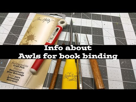 Info about awls for book binding