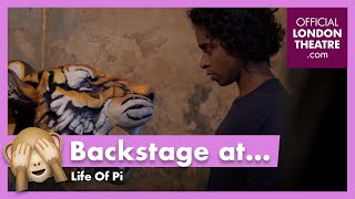 Life Of Pi - Behind the Scenes Photoshoot