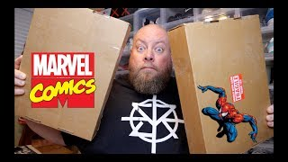 Opening Up 2 $100 Comic Book Mystery Boxes from ToyUSA + RARE Marvel Comics Possible!