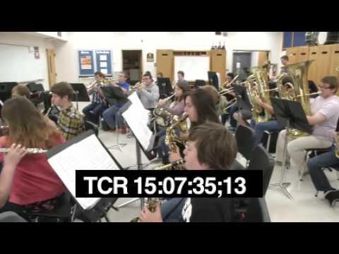 KCSD's Teacher Training - Bryce Miller SHS Band Music Class