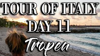 Italian Road Trip Day 11  |  Tropea Tour of Italy  |  Vegan Food Travel VLOG