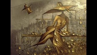 Рисуем на золотых холстах
