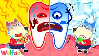 Wolfoo, the Teeth Get Hurt! Stop Eating Hot vs Cold Food - Healthy Habits for Kids | Wolfoo Channel