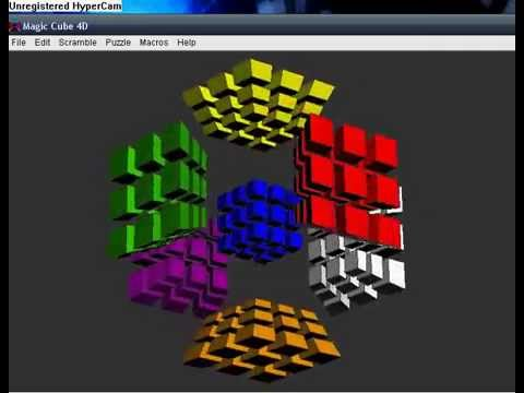 Rubiks Hypercube (Computer Solution)