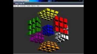 Rubiks Hypercube (Computer Solution)