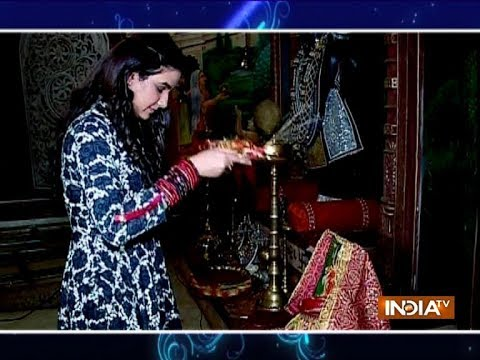 Watch how TV actors are celebrating Navratri on serial sets