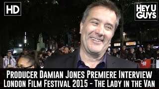 Damian Jones Interview - The Lady in the Van Premiere