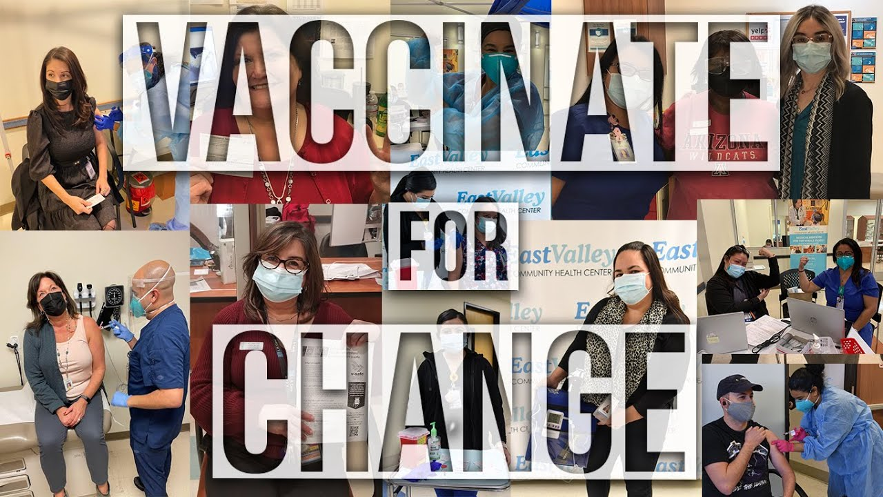 East Valley Launches PSA Video - Vaccinate for Change