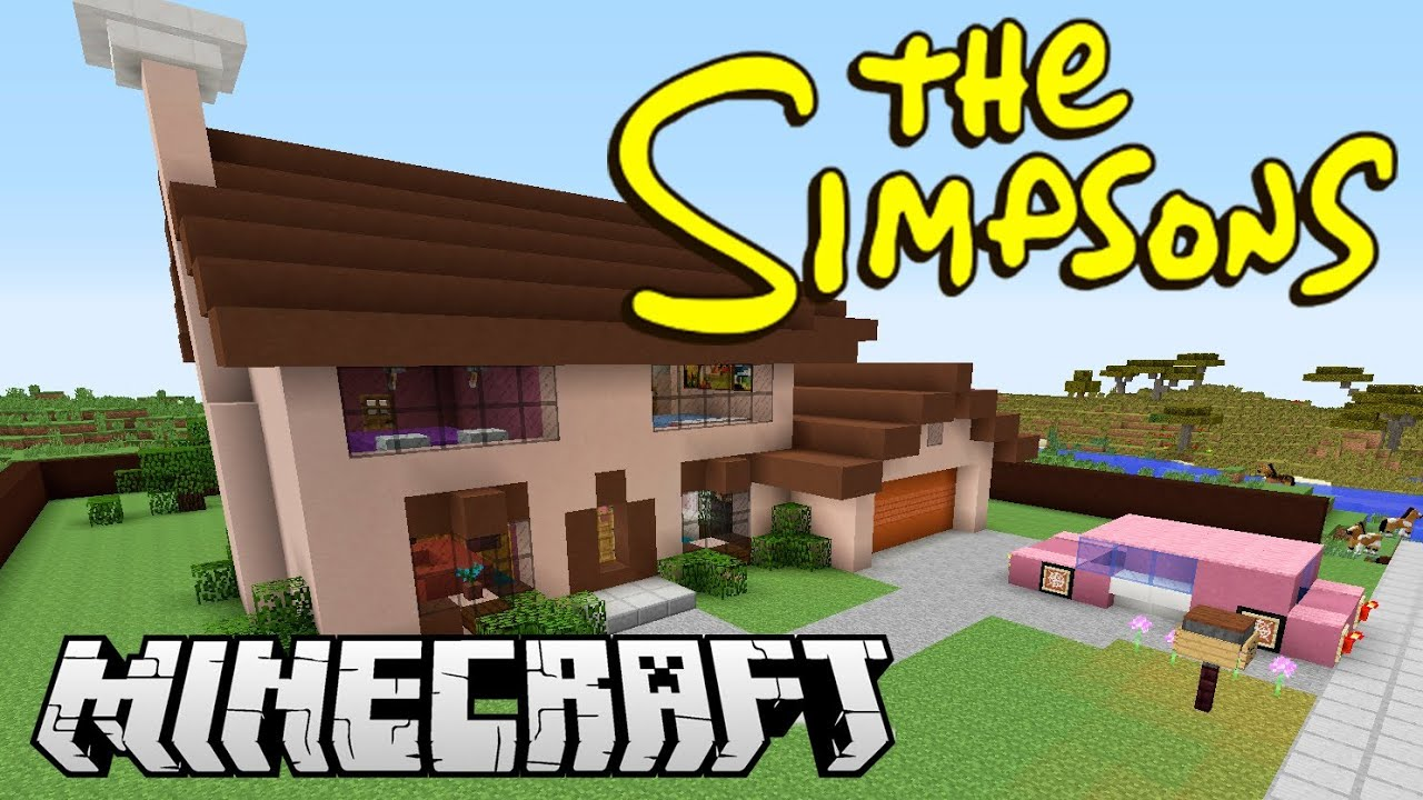 Minecraft The Simpsons Youtube