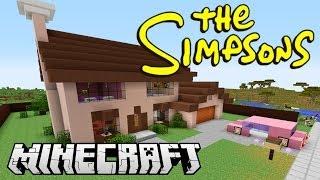 видео: ДОМ СИМПСОНОВ в minecraft обзор [The Simpsons]