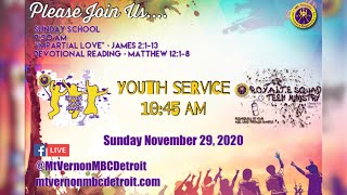 "Sunday School - ""Impartial Love"" - 11/29/2020"