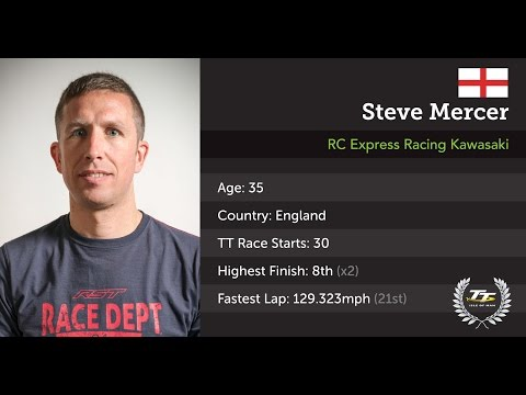 Steve Mercer - Isle of Man TT 2017 - Press Launch Interview