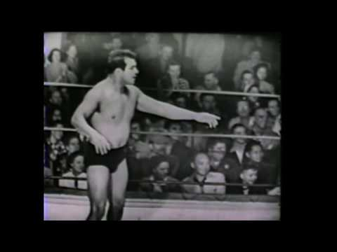 Enrique Torres vs Ted Christy 12/28 1950  Long Beach professional wrestling Los Angeles
