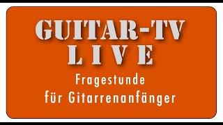 Guitar-TV LIVE • 51. Metronom/Taktell oder lieber Apps?  •  28.4.2020 - 11 h