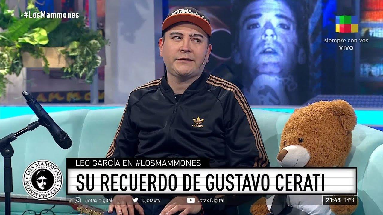 """Download 🗣 Leo García habló de su amistad con Gustavo Cerati: """"Llegué a convivir con él"""""""