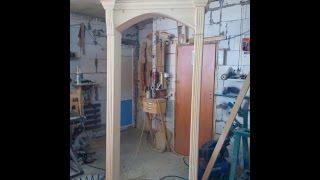 Изготовление арки в дверной проем 3(, 2016-10-20T19:07:37.000Z)