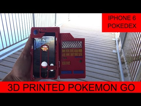 huge selection of 45101 ac82f AMAZING iPhone 6 and iPhone 7 Pokedex Cover Pokemon GO (With Target ...