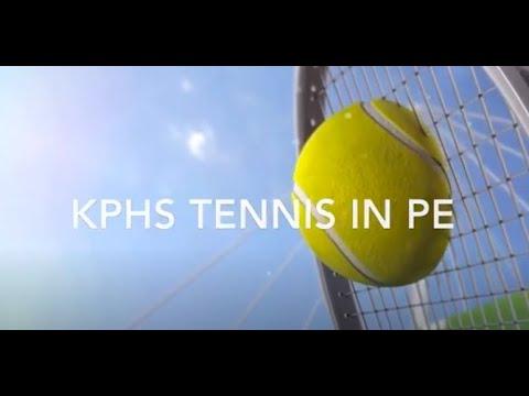 Keystone Prep High School Health Class Plays Tennis!
