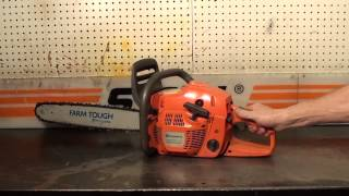 The chainsaw guy shop talk Husqvarna 455 Rancher chainsaw 5 13
