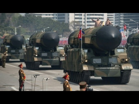 North Korea: missile test fails after showcase parade