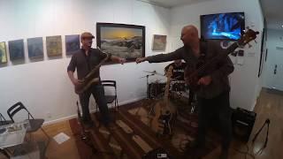 Karl Latham-Drums, Brian Kastan-Fretless Bass, Dave Mullen-Sax...Live @ Kastan Art Space