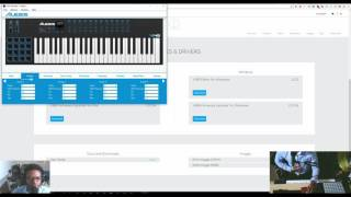 Alesis VI editor software how to get it and how to use it vi25 vi49 vi61