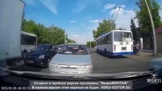 Дорожные войны и приколы. Омск. Июнь 2016.