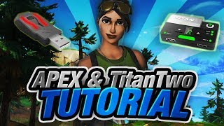 Fortnite Battle Royale - XIM Apex + Titan Two One-Button Building Script Tutorial