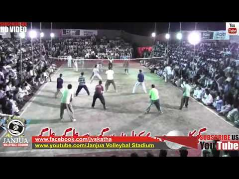 Shooting Volleyball Show Match - Faisal Bhatti Vs Naveed Bhutta Volleyball King Of Defence