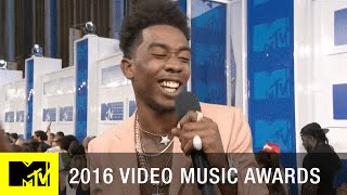 Desiigner Freestyles on the Red Carpet | 2016 Video Music Awards | MTV