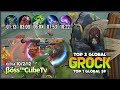 Tank Items  No Needed  1848 Match Grock with 96 8  WR is Real      ss   CubeTv Top 1 Global S9   MLBB
