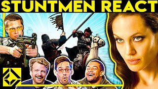 Stuntmen React To Bad & Great Hollywood Stunts 28
