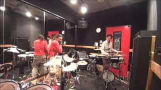 DPduo ◎ドラム/パーカッションとパーカッションのデュオ。シンバルやタ...