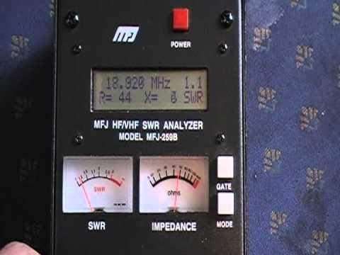 SWR Testing of an Ameritron RCS-4 Coax Switch