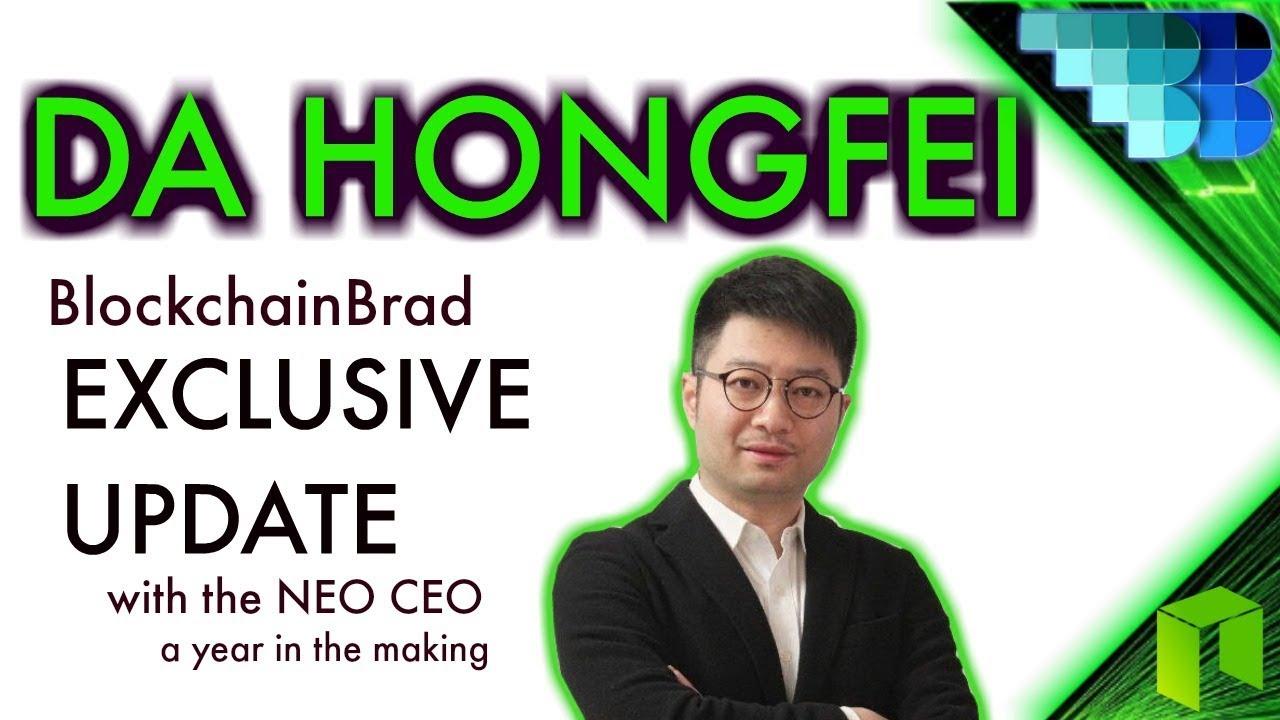 Da Hongfei Exclusive    BlockchainBrad   NEO   Smart Economy   Candid Crypto Interview
