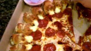 Pizza Hut Cheesy Bites Pizza Special|pizza Review