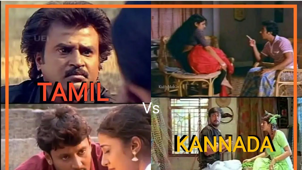 Tamil Kannada Movie Trolls Tamil Vs Kannada Movies Tamil