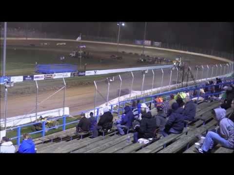 Super Late Model Feature from Florence Speedway, April 8th, 2017.