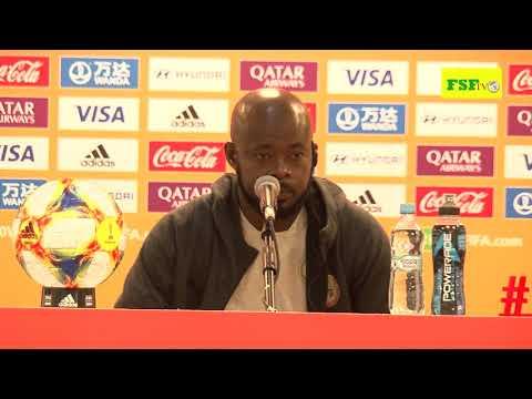 Conférence de presse d'avant match Tahiti vs Sénégal  du 23 mai  2019 à Lublin 16H00 GMT