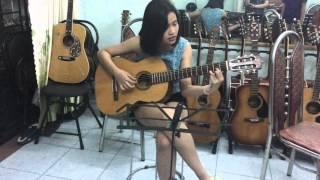 [Guitar Đệm Hát] - Mình yêu từ bao giờ __ Miu Lê - Học viên lớp nhạc [6 NGÀY BIẾT CHƠI GUITAR]