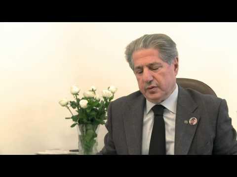 Amine Gemayel - Lebanon President Interview by RMR