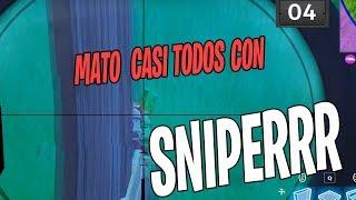 MATO CASI TODOS CON *SNIPER* | FORTNITE