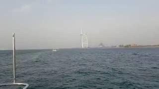 Dubai 2016, Burj Al Arab, the walk on the yacht