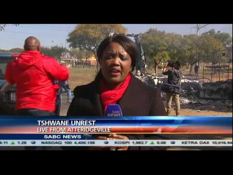 Update on Tshwane unrest: Patricia Visagie reports