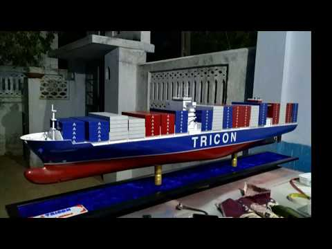 Scratch built Container Vessel Part 2