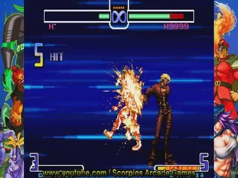 The King of Fighters 2002 - K' Dash Combos Tático by Scorpios