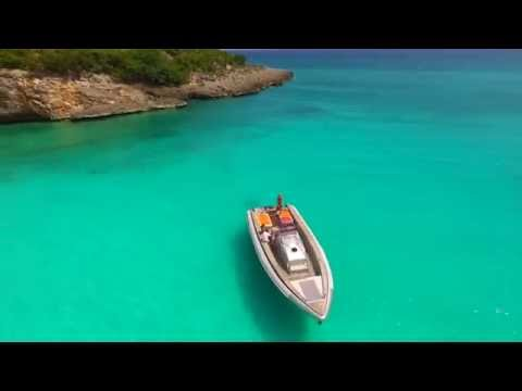 "Albatro 50 ft  Private Speed Boat charters St Maarten "" GRAY SPICY """