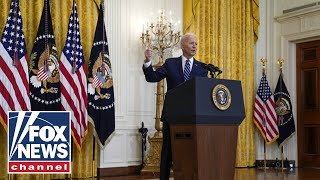 'The Five' give strong criticism of Biden's first press conference