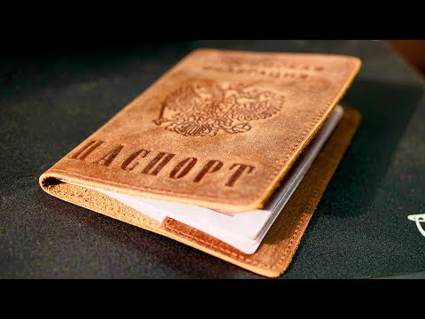 Отличные обложки на паспорт из кожи дикой лошади с Aliexpress!