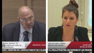 Audition de Stéphane Travert et Marlène Schiappa - Les matins du Sénat (20/07/2017)